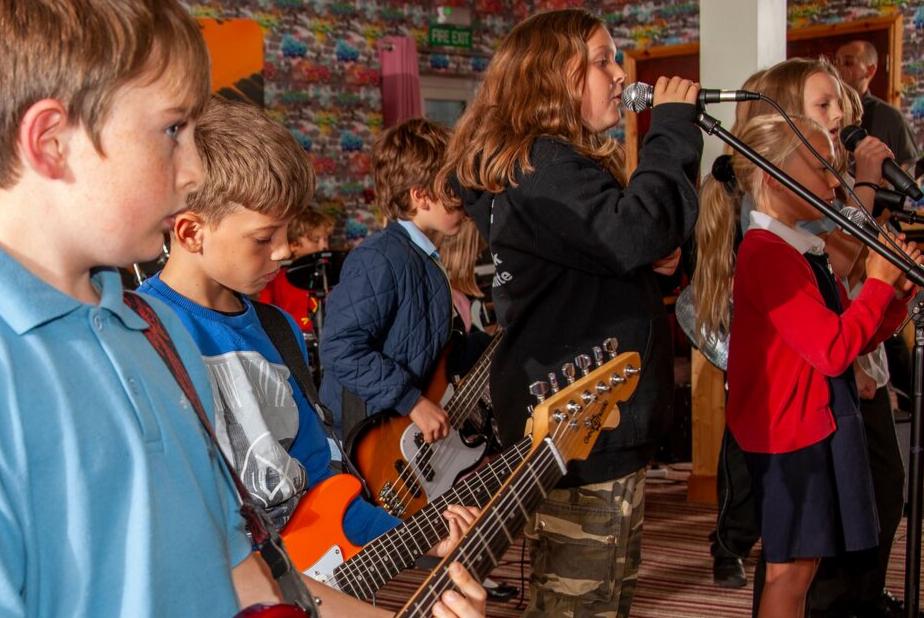 Ipswich Rock School live Group Performance